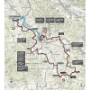Strade Bianche 2015: The route - source: gazetta.it
