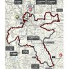 Strade Bianche Donne 2019: route - source: www.strade-bianche.it