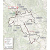 Strade Bianche 2020: route - source www.strade-bianche.it