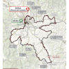 Strade Bianche Donne 2020: route - source: www.strade-bianche.it