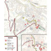 Strade Bianche 2021: route last 5 km - source www.strade-bianche.it