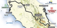 Tirreno Addriatico 2014: Whole route
