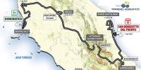 Tirreno Addriatico 2014: Whole route
