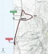 Tirreno-Adriatico 2014 Route stage 1: Donoratico - San Vincenzo