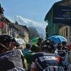 Tirreno - Adriatico stage 5: Before the start source: gazetta.it
