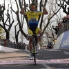 Tirreno - Adriatico stage 5 Alberto Contador takes his second victory in two days - source: @TirrenAdriatico