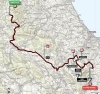 Tirreno-Adriatico 2014 Route stage 5: Amatrice - Guardiagrele