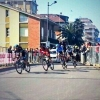 Tirreno - Adriatico stage 6: First passage at porto Sant'Elpidio finish line - source: @LucaPapini