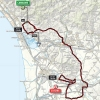Tirreno-Adriatico 2015: Route stage 2: Camaiore - Cascina - source gazetta.it