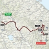 Tirreno-Adriatico 2015: Route stages 4: Indicatore - Castelraimondo - source gazetta.it