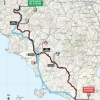 Tirreno-Adriatico 2016 Route 3rd stage: Castelnuovo Val di Cecina - Montalto di Castro - source: gazetta.it