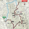 Tirreno-Adriatico 2016 Route 5th stage: Foligno - Monte San Vicino - source: gazetta.it