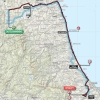 Tirreno-Adriatico 2016 Route 6th stage: Castelraimondo - Cepagatti - source: gazetta.it