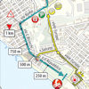 Tirreno-Adriatico 2020 route finish stage 2 - source www.tirrenoadriatico.it