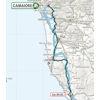 Tirreno-Adriatico 2020 route 2nd stage - source www.tirrenoadriatico.it