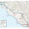 Tirreno-Adriatico 2020 route 3rd stage - source www.tirrenoadriatico.it