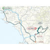 Tirreno-Adriatico 2020 route 3rd stage - source www.tirrenoadriatico.it