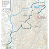Tirreno-Adriatico 2020 route stage 4 - source www.tirrenoadriatico.it