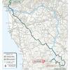 Tirreno-Adriatico 2021 route stage 2 - source www.tirrenoadriatico.it