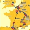 Tour de France 2014 - Route and stages (source: letour.fr)
