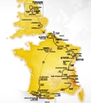 Tour de France 2014 Route and stages