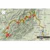 Tour de France 2014 Route stage 10: Mulhouse-La Planche des belles Filles - source: woosmap.com / ASO