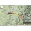 Tour de France 2014 Route stage 13: Saint-Etienne – Chamrousse - source: woosmap.com / ASO