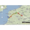 Tour de France 2014 route stage 3: Le Touquet - Lille - source: woosmap.com / ASO