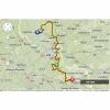 Tour de France 2014 Route stage 5: Ieper (B) - Arenberg - source: woosmap.com / ASO