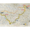 Tour de France 2015 Route stage 14: Rodez - Mende - source:letour.fr