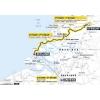 Tour de France 2015: Route stage 2 Utrecht - Neeltje Jans - source: GeoAtlas