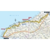 Tour de France 2015: Route 6th stage Abbeville - Le Havre - sourcee:letour.fr