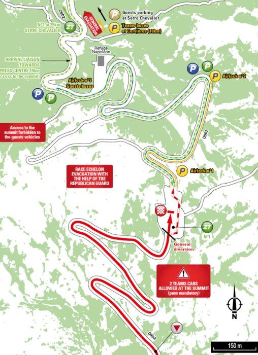 Tour De France 2017 Route Stage 18 Briançon Izoard