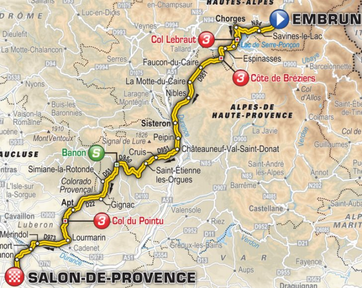 19 etapa embrun salon de provence tour de france 2017