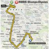 Tour de France 2017 Route 21st stage: Montgeron – Paris - source: letour.fr