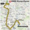 Tour de France 2017 Route 21st stage: Montgeron – Paris - source: letour.fr