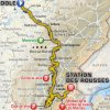 Tour de France 2017 Route 8th stage: Dole - Station des Rousses - source:letour.fr