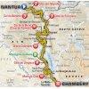 Tour de France 2017 Route 9th stage: Nantua - Chambéry - source:letour.fr