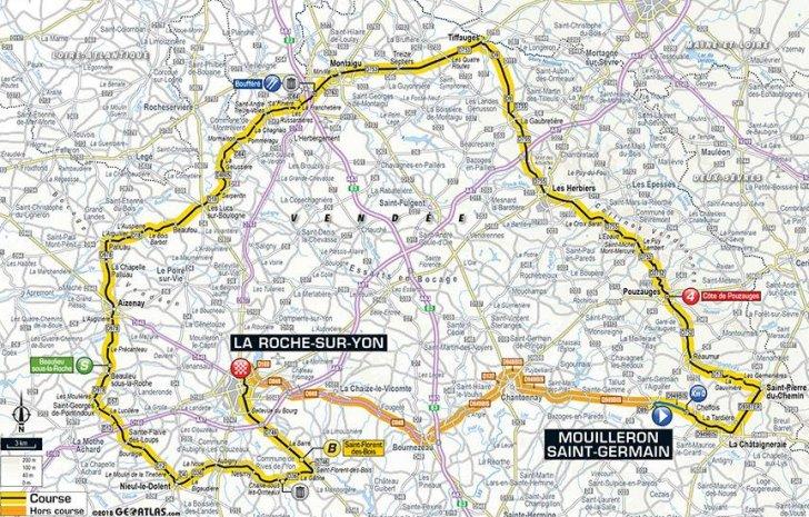 Tour de France 2018 Route and stages