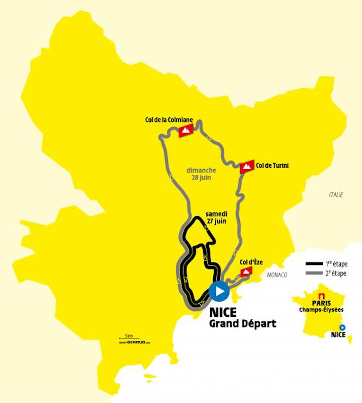 Tour De Suisse 2020.Tour De France 2020 The Route