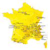 Tour de France 2020: entire route - source:letour.fr