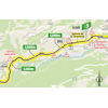 Tour de France 2020: route intermediate sprint 18th stage - source:letour.fr