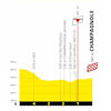 Tour de France 2020: finish profile 19th stage - source:letour.fr