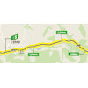 Tour de France 2020: route intermediate sprint 5th stage - source:letour.fr