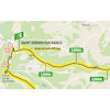 Tour de France 2020: route intermediate sprint 7th stage - source:letour.fr