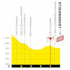 Tour de France 2020: finish profile 8th stage - source:letour.fr