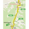 Tour de France 2020: route intermediate sprint 8th stage - source:letour.fr