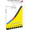Tour de France 2020: profile Col de Marie-Blanque - source:letour.fr