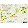 Tour de France 2021: intermediate sprint route stage 11 - source:letour.fr