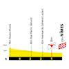 Tour de France 2021: finish profile stage 12 - source:letour.fr
